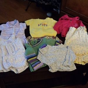 Girls 12 month clothing lot